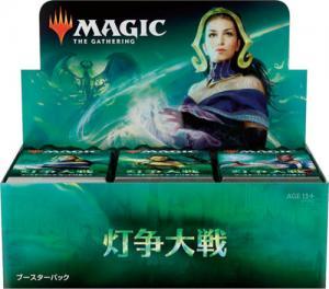 MTG: Дисплей бустеров издания Война Искры на японском языке