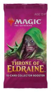MTG: Коллекционный бустер издания Throne of Eldraine на английском языке