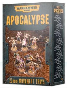 Warhammer 40K: Apocalypse 25mm Movement Trays