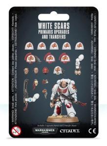 Миниатюры Warhammer 40000: White Scar Primaris Upgrades & Transfers Sheet