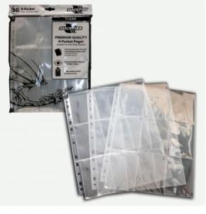 50 листов с кармашками 3х3 - Blackfire (прозрачные)