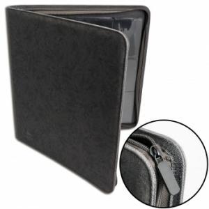 Blackfire 12-Pocket Premium Zip-Album - Black