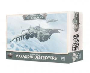 Миниатюры Warhammer 40000: Aeronautica Imperialis: Imperial Navy Marauder Destroyers
