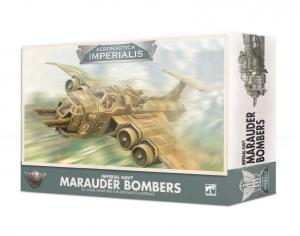 Миниатюры Warhammer 40000: Aeronautica Imperialis: Imperial Navy Marauder Bombers