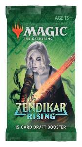 MTG: Драфт-бустер издания Zendikar Rising на английском языке