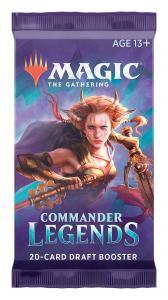 MTG: Драфт-бустер издания Commander Legends на английском языке