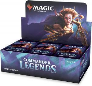 MTG: Дисплей драфт-бустеров издания Commander Legends на английском языке