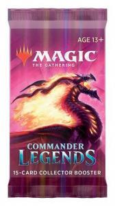 MTG: Коллекционный бустер издания Commander Legends на английском языке