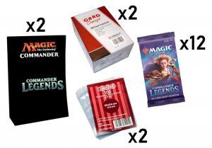 MTG: Стартовый набор для ДВУХ игроков издания Commander Legends на английском языке