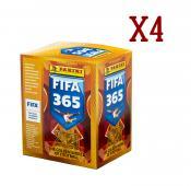 4 бокса наклеек FIFA 365-2020 от Panini