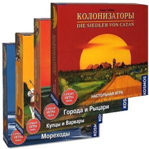 Колонизаторы + 3 дополнения (на русском)