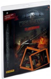 Стартовый набор наклеек World of Tanks от Panini