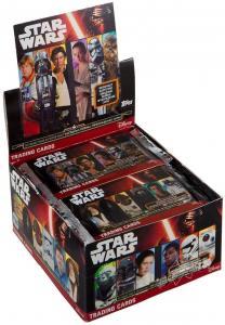 Дисплей бустеров TOPPS Journey to Star Wars TCG: The Force Awakens