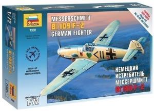 Немецкий истребитель Мессершмитт Bf-109F2