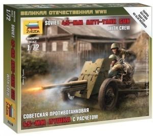 Советская 45-мм пушка