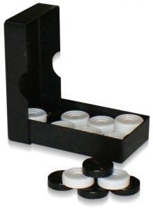 Шашки черная коробка (Астрон)