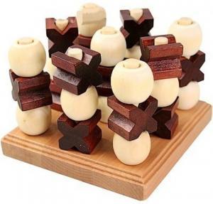 Трехмерные Крестики-Нолики (бамбук)