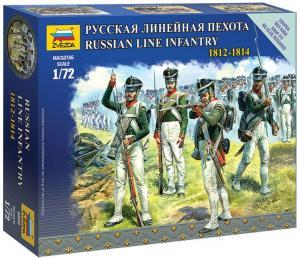 Русская линейная пехота, 1812-1814 гг.