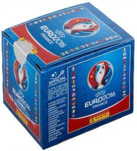 """Бокс наклеек Panini """"UEFA EURO 2016 France"""" + альбом в подарок"""