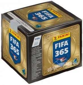 """Бокс наклеек Panini """"FIFA 365-2017"""""""
