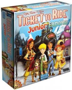 Ticket to Ride Junior: Европа (на русском)