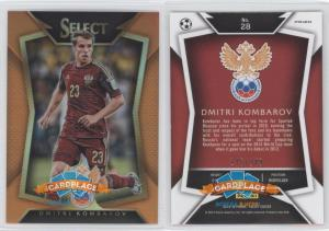 Panini Select 2015-16 - #28.2 Дмитрий Комбаров (Ball Back Photo Variation)