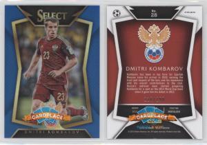 Panini Select 2015-16 Blue - #28.2 Дмитрий Комбаров (Ball Back Photo Variation)