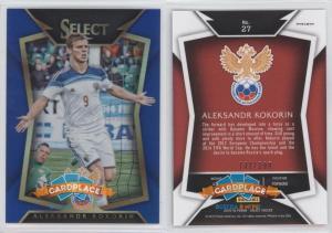 Panini Select 2015-16 Blue - #27.1 Александр Кокорин (Base)