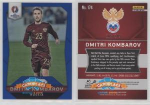 Panini Prizm UEFA Euro 2016 Blue Prizms - #174 Дмитрий Комбаров