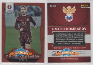 Panini Prizm UEFA Euro 2016 Red Prizms - #174 Дмитрий Комбаров