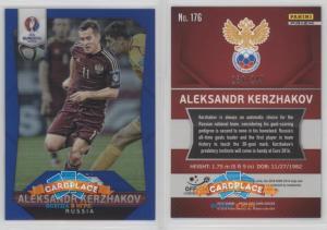 Panini Prizm UEFA Euro 2016 Blue Prizms - #176 Александр Кержаков