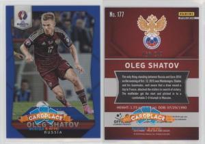 Panini Prizm UEFA Euro 2016 Blue Prizms - #177 Олег Шатов