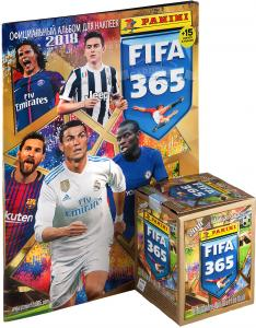 """Набор наклеек Panini """"FIFA 365-2018"""" (БЕЗ УПАКОВКИ)"""