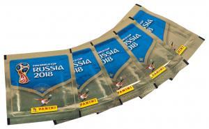 5 пакетиков наклеек ЧЕМПИОНАТ МИРА ПО ФУТБОЛУ FIFA 2018™