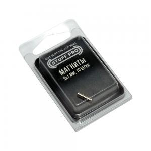 Магниты STUFF-PRO для миниатюр (10 штук, 3х1 мм)