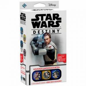 """Star Wars: Destiny. Стартовый набор """"Оби-Ван Кеноби"""" (на русском)"""