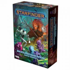 Starfinder. Настольная ролевая игра. Инопланетный архив. Набор фишек (на русском)