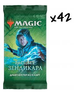 MTG: 42 драфт-бустера издания Расцвет Зендикара на русском языке