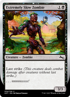 Extremely Slow Zombie (Spring)