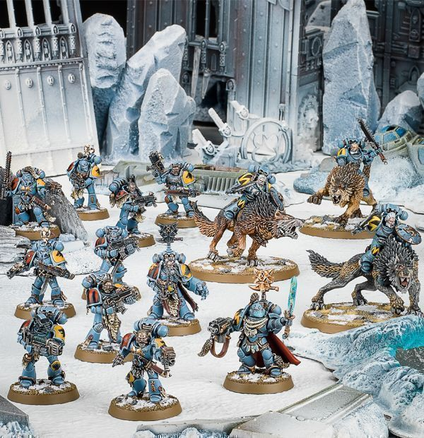 Миниатюры Warhammer 40000: Start Collecting! Space Wolves