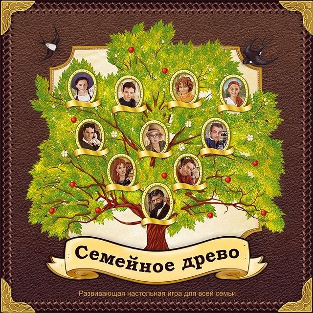 генеалогическое древо картинки на английском языке